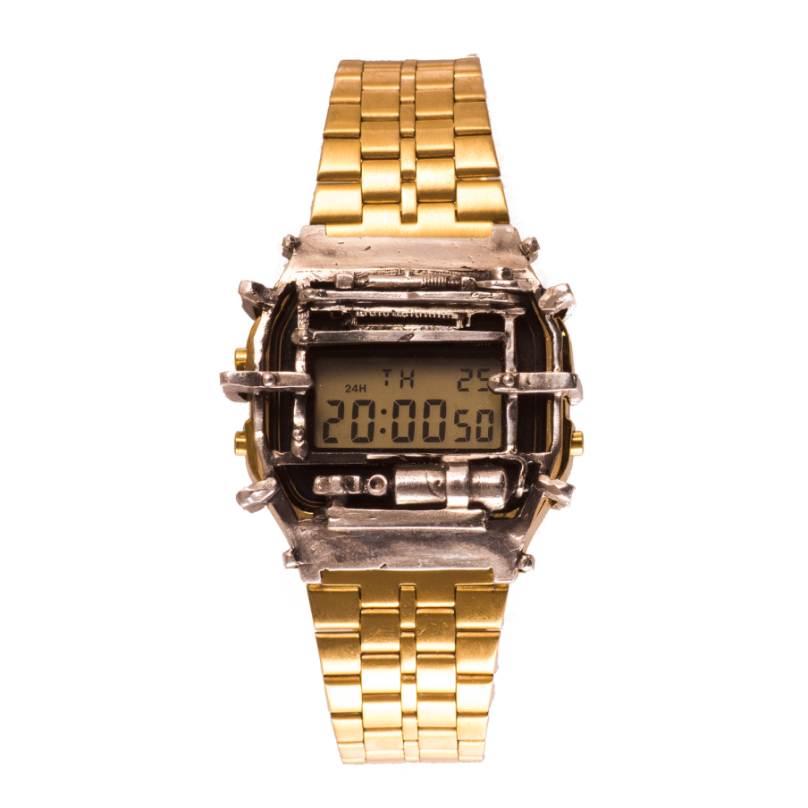 CASIO A158WA Oxygen Gold