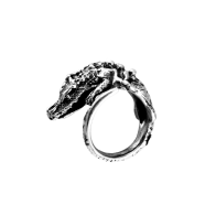 Crocodile ring smooth tail